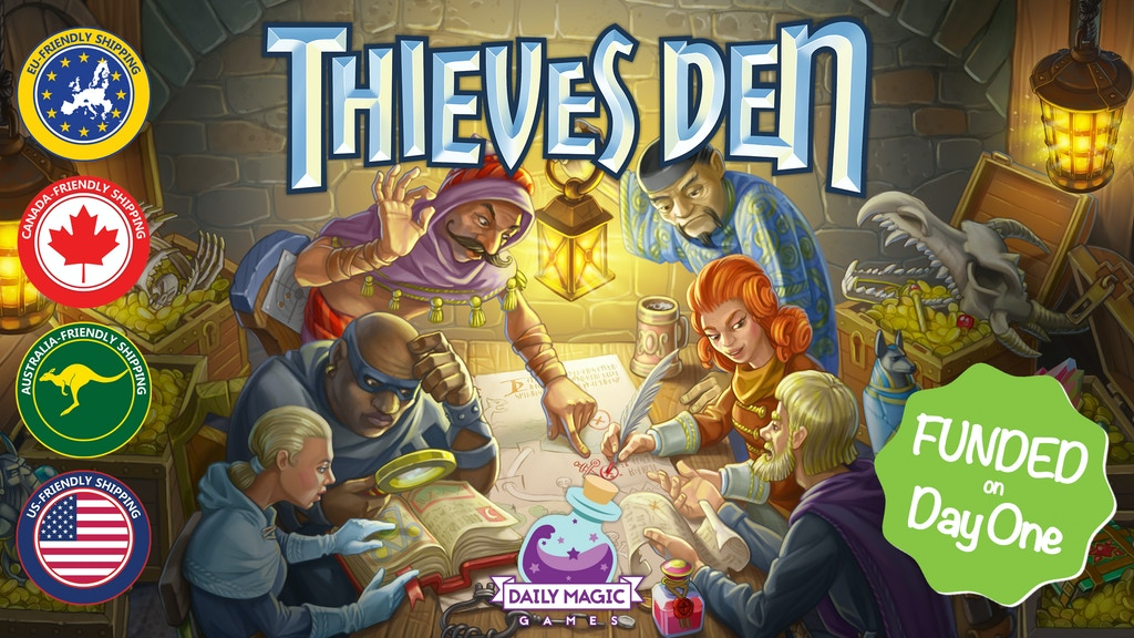 Thieves Den project video thumbnail