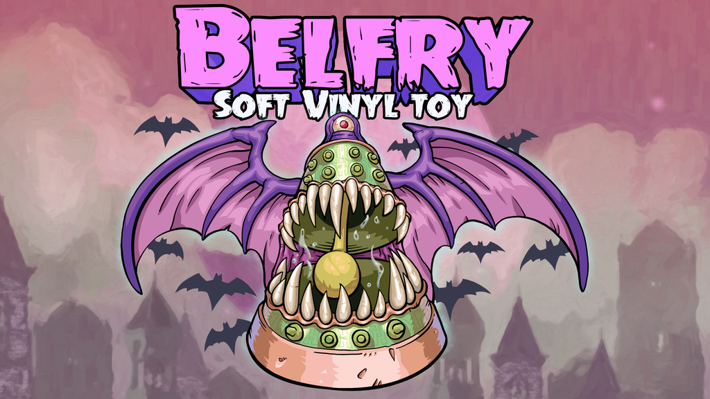 Belfry - The Demon Bell Kaiju - Soft Vinyl Toy project video thumbnail