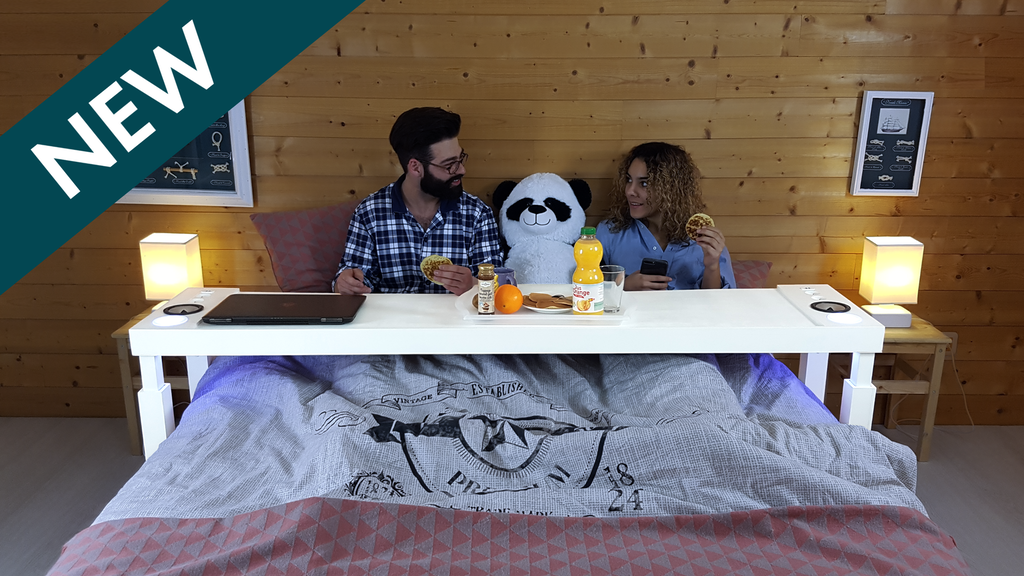 BEDCHILL Overbed Table - Take your bed to the next level