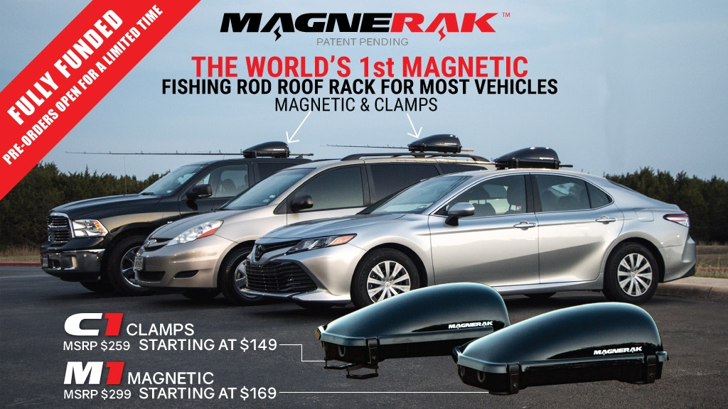 MAGNERAK - The World's 1st Magnetic Fishing Rod Roof Rack project video thumbnail