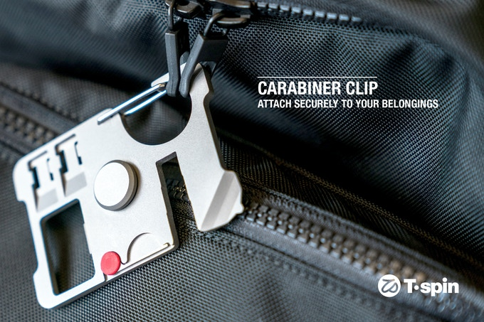 Carabiner Clip: Attach Securely To Your Belongings
