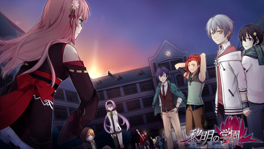 ❖Reimei no gakuen - Modern Fantasy | Otome | Visual Novel❖ project video thumbnail