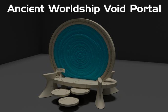 Digital render of the Void Portal