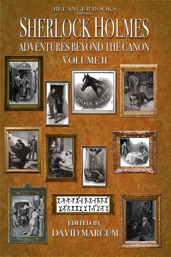Cover to Volume 2 highlighting the original adventures connected to the new stories in this volume of the anthology.