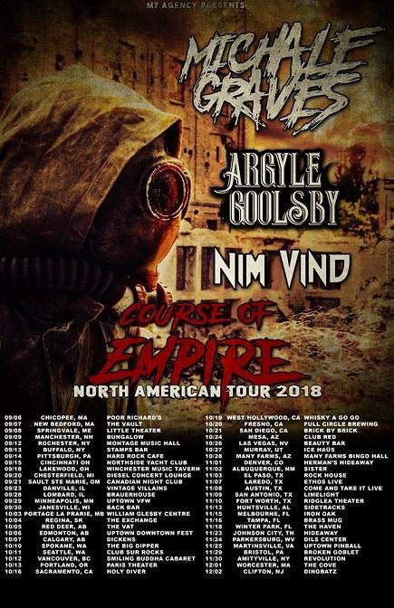 Fall tour promo poster