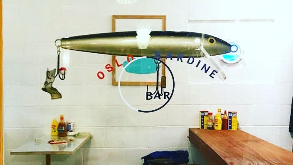 OSLO Sardine Bar art installation crate, thats great! project video thumbnail