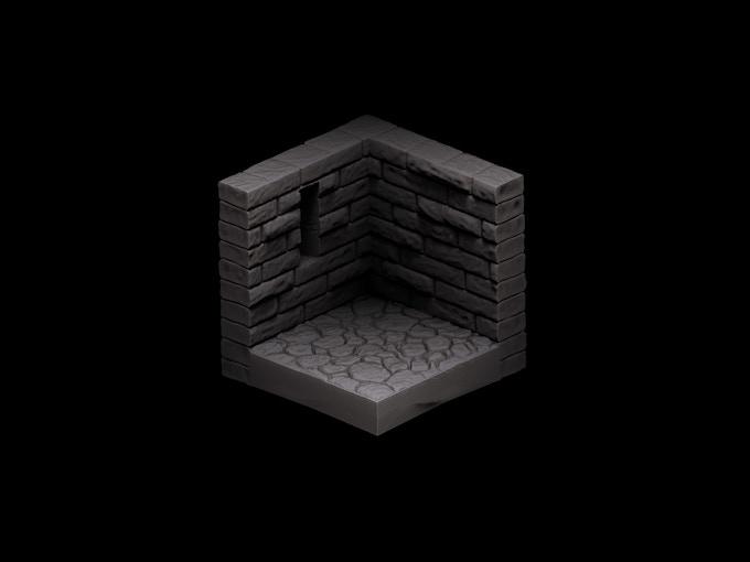 Stone Corner Window