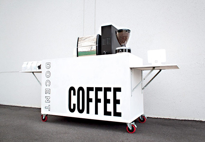 Docent Mobile Barista Cart