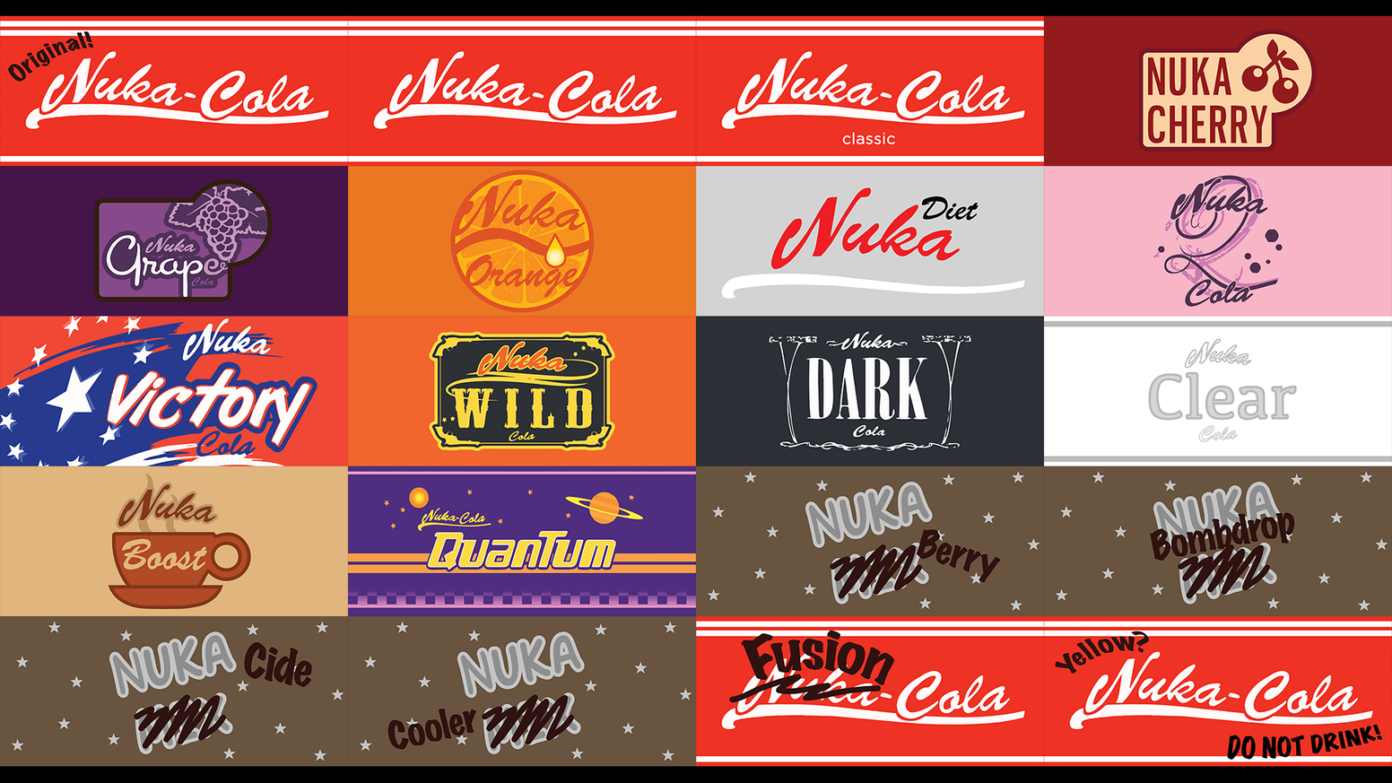 how to brew all real nuka cola flavors from fallout by game theorem