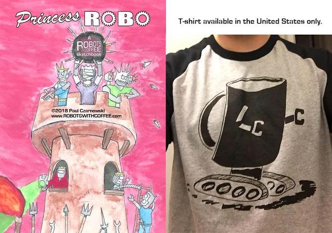 Princess Robo cover & the RwC t-shirt
