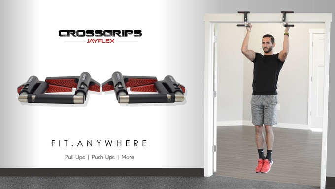 Crossgrips the worlds first multi gym fitness handles by jayflex