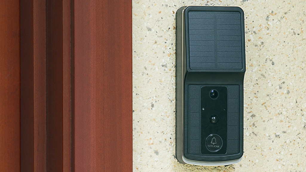Soliom - World's First Solar-Powered Wirefree Video Doorbell project video thumbnail