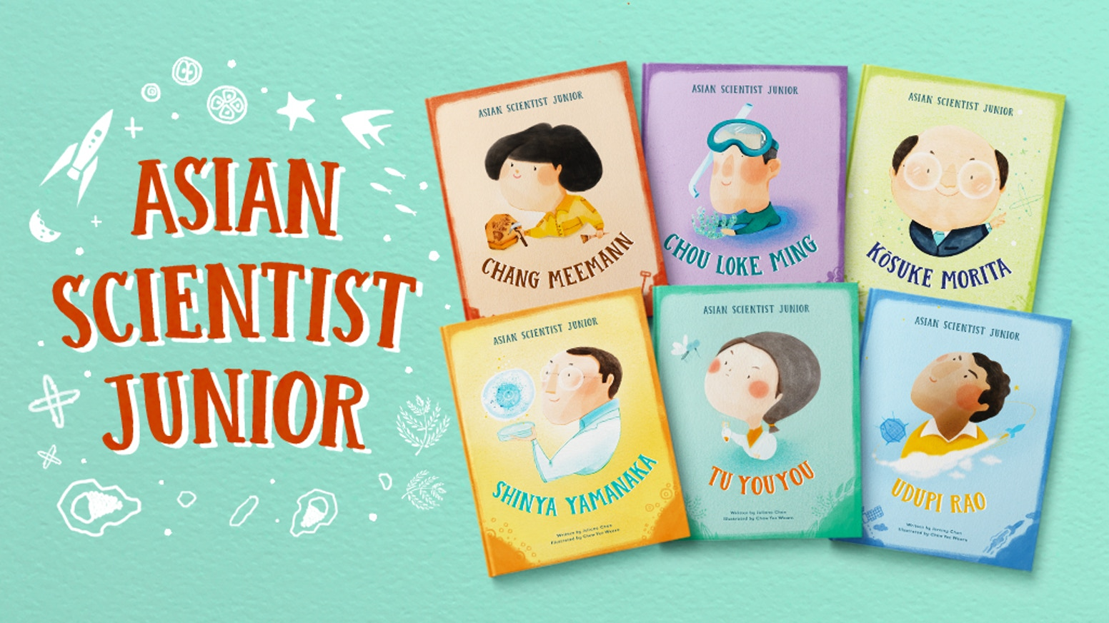 Asian Scientist Junior, a six-part children's book series by