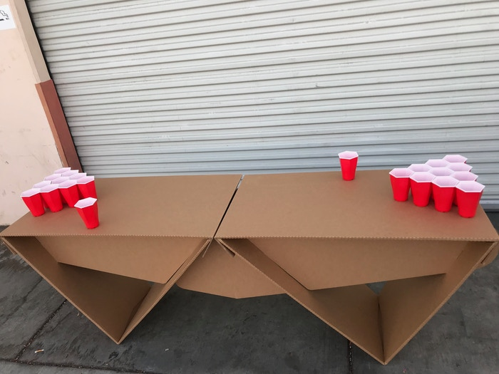 Hexcup: World's Best Beer Pong Cup by William Heimsoth