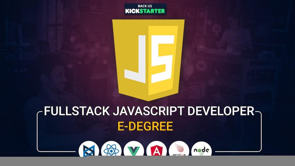 Eduonix Fullstack Javascript Developer Edegree project video thumbnail