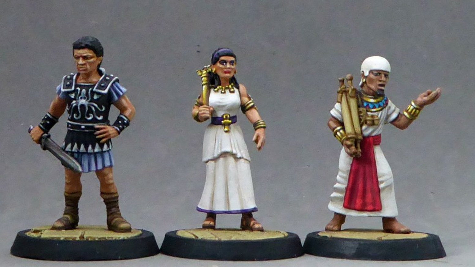 The Return of Cleopatra - 28mm Egyptian Miniatures by Dark Fable