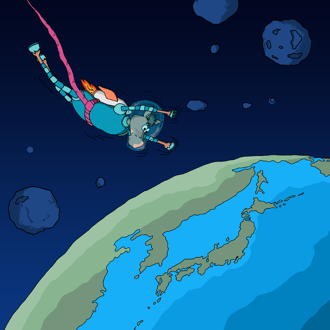 Ferro S - the horse that jumped off the moon