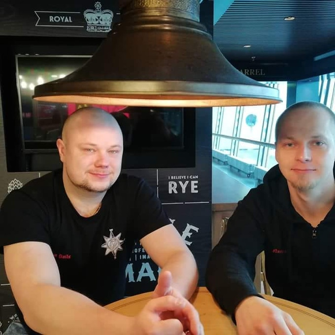 The guys behind the Crown: Jari-Matti Kärkiö and Jarno Voutilainen