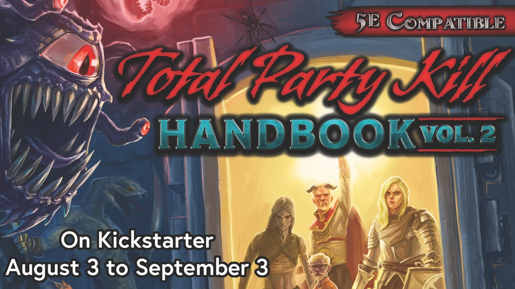 Total Party Kill Handbook Volume 2: 5th Edition Encounters project video thumbnail