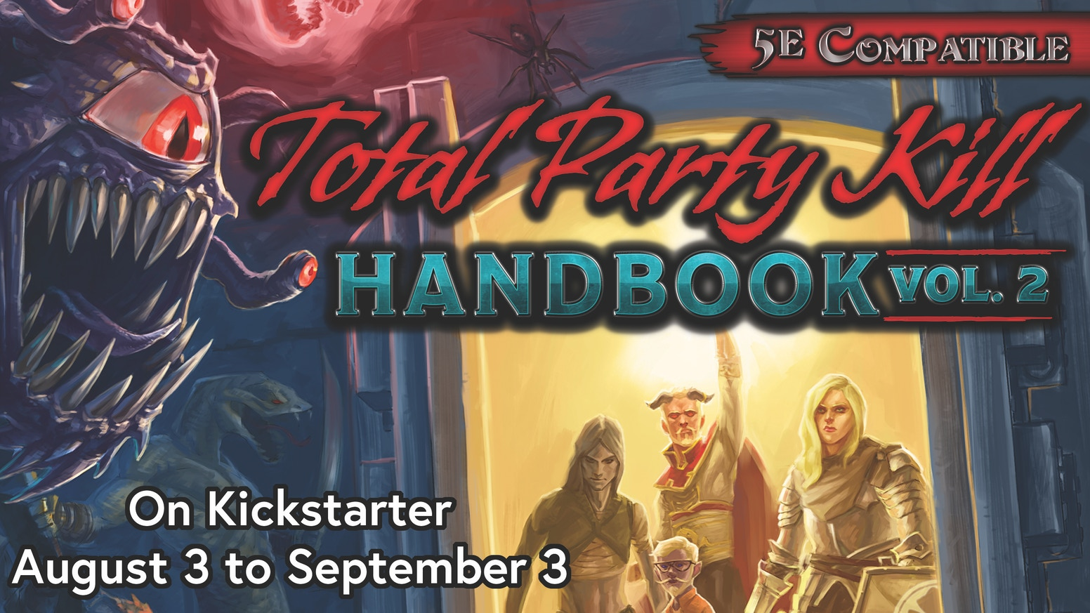 Total Party Kill Handbook Volume 2: 5th Edition Encounters by