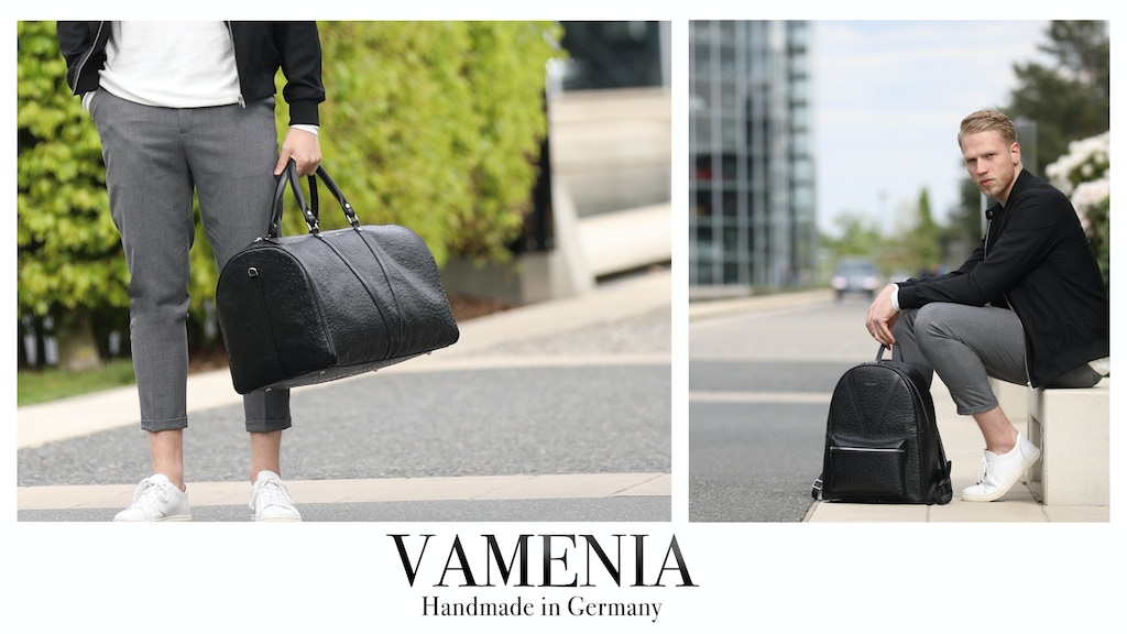 Finest Leather Goods HANDMADE IN GERMANY - by VAMENIA