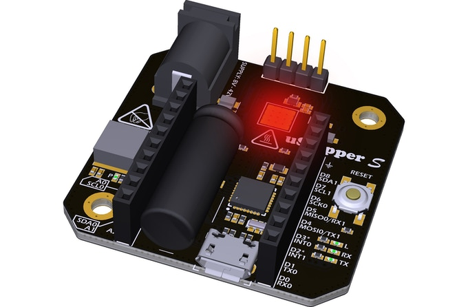The main heat source is the stepper driver
