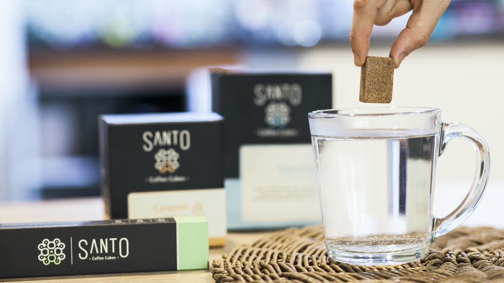 Santo Coffee Cubes: World's Fastest Cup of Coffee in 30 secs project video thumbnail