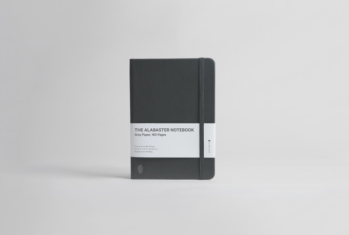 The Alabaster Notebook –Available in lined, blank, and dot