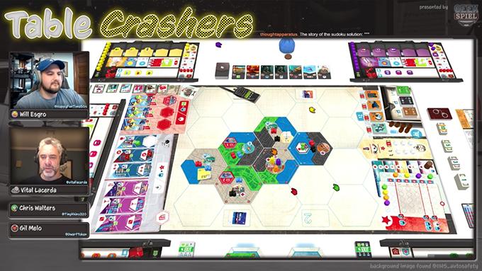 Live Playthrough with GeekSpiel
