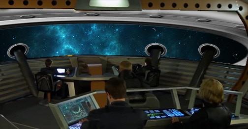 Bridge viewscreen