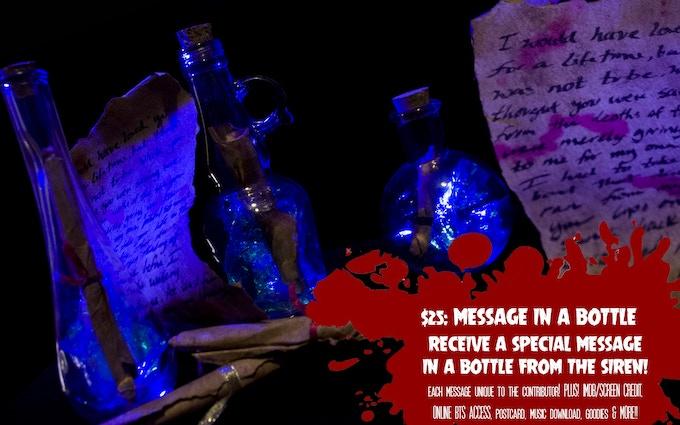 Sample perk: Message in a Bottle!