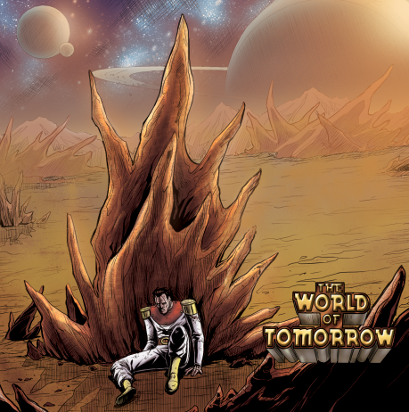 Production Still from The World of Tomorrow #2. Currently in Production