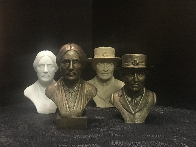 Introducing Susan B. Anthony and Juliette Gordon Low