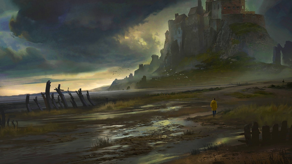 This Dreaming Isle, an anthology of dark fantasy and horror project video thumbnail