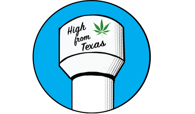 Water Tower Logo Sticker