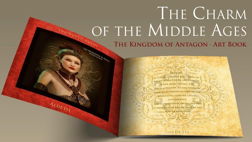 Antagon Kingdom Art Book