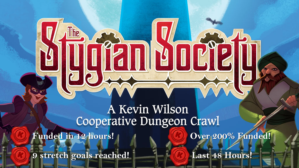 The Stygian Society - A Kevin Wilson Cube Tower Adventure project video thumbnail