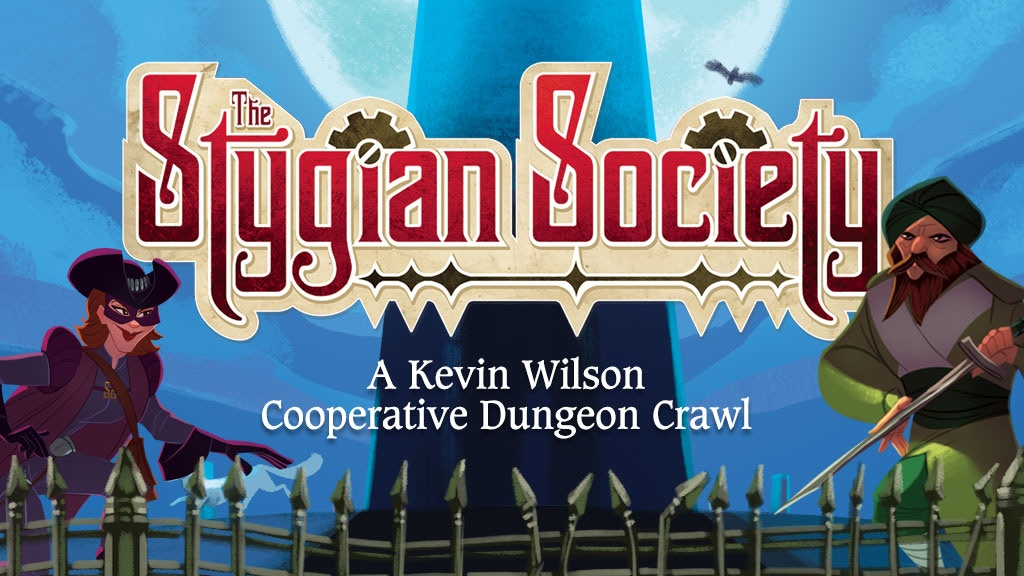 The Stygian Society - A Kevin Wilson Cube Tower Adventure