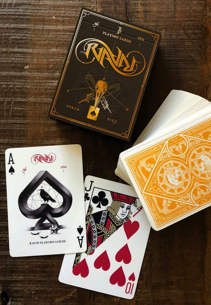 Ace of Spades and Gaff Card for card tricks