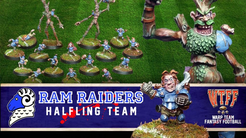 The Ram Raiders : Halfling Fantasy Football Miniatures project video thumbnail