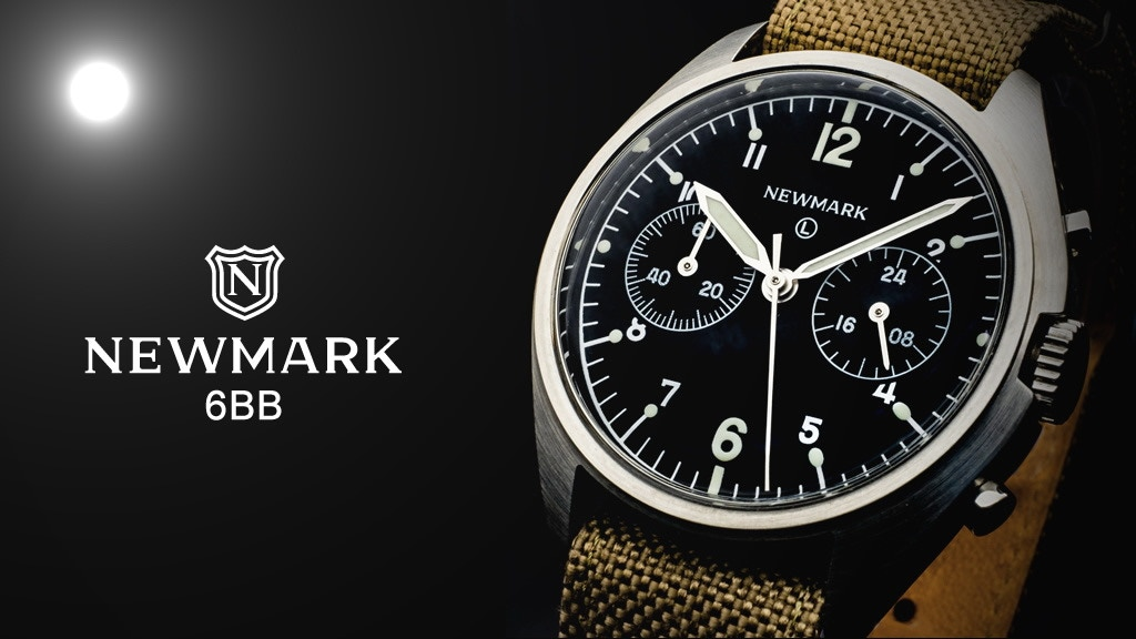 Newmark 6BB RAF Chronograph - An Iconic Pilot's Watch Reborn project video thumbnail