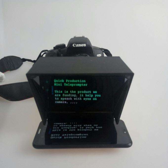 Camera Installed