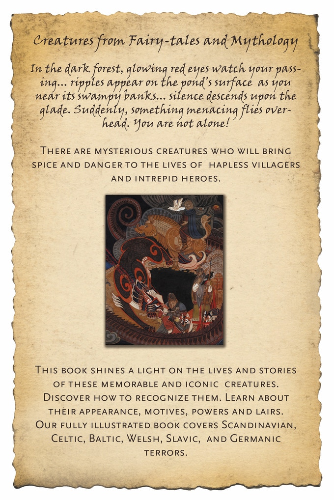 Creatures from fairy-tales and myth by Andrew Valkauskas