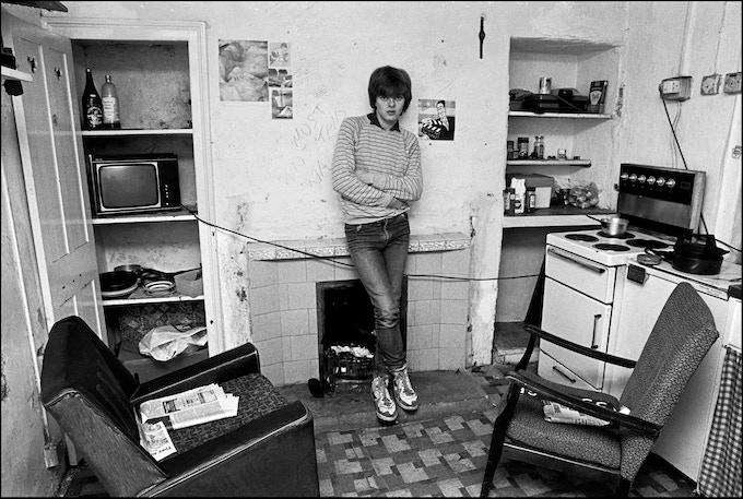 Rob at Newport 1986.