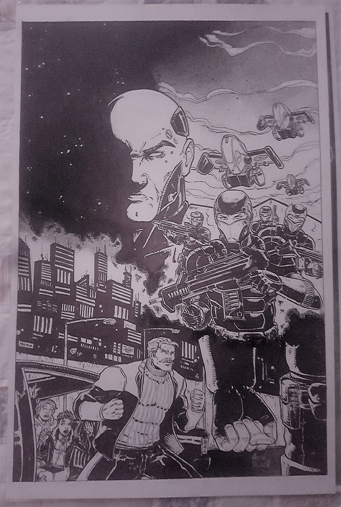 Authority Tier - ORIGINAL SIGNED JACOB NEWELL COVER