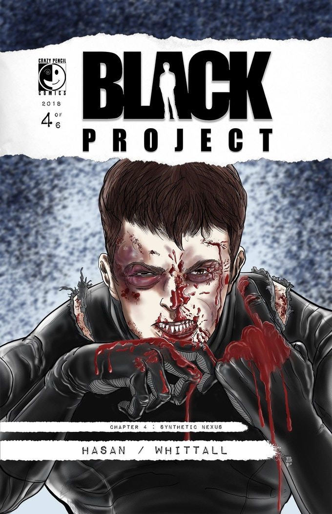Black Project 4: Synthetic Nexus Cover