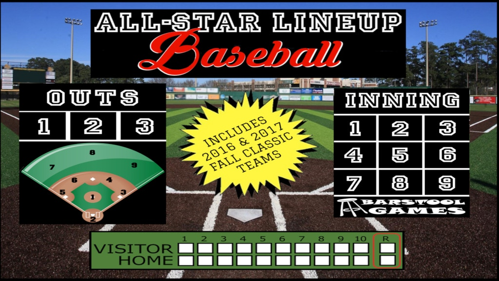 All-Star Lineup Baseball - Fast-paced tabletop baseball! project video thumbnail