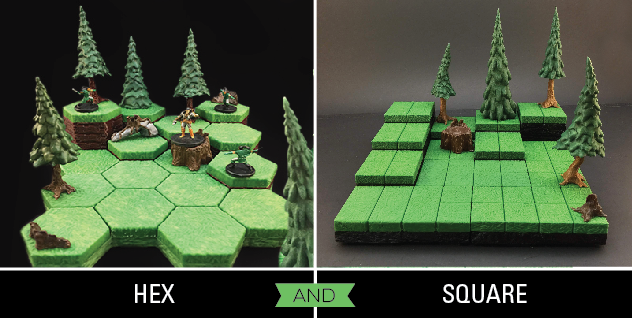 HyGround 3D Printable Tabletop Gaming Terrain by Yeti