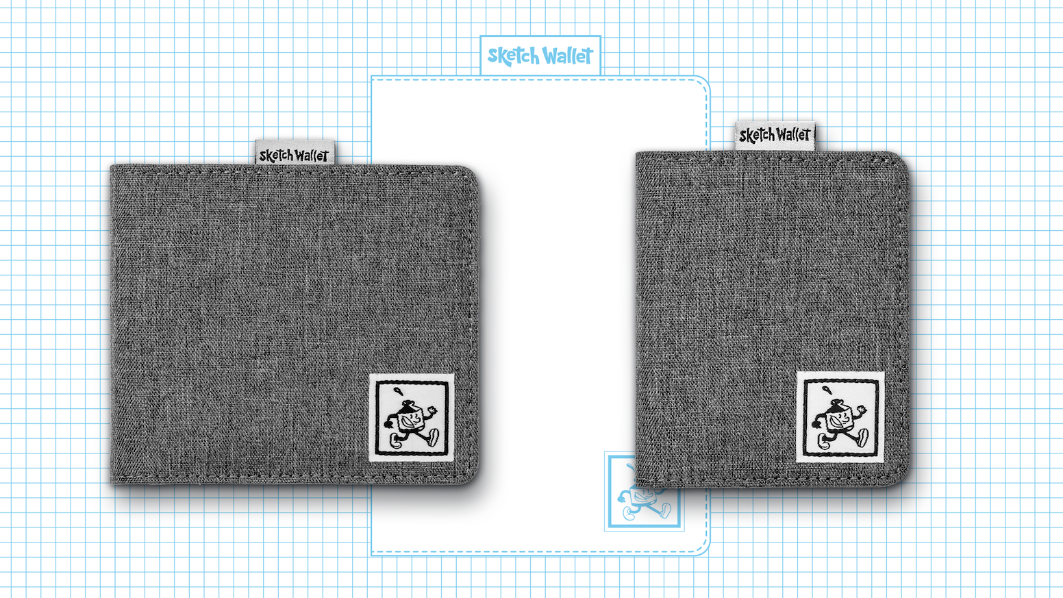 Two new smaller sized Sketch Wallets