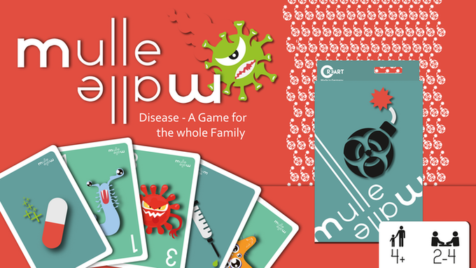 MulleMalle-Diseases! Card Game